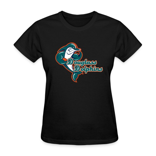 Douglass Dolphins 2 - Women's T-Shirt