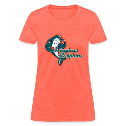 Douglass Dolphins 2 - Women's T-Shirt
