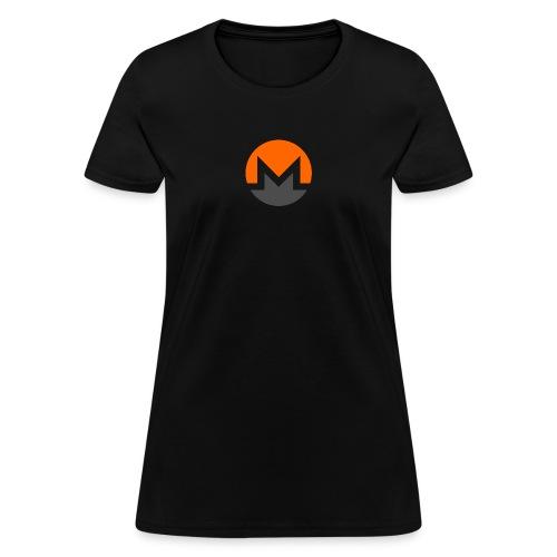 Monero crypto currency - Women's T-Shirt