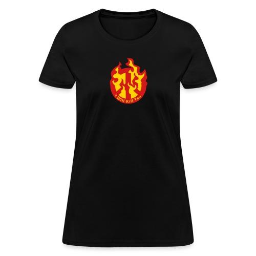 kill peace sign - Women's T-Shirt