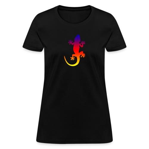 Colorful gecko - Women's T-Shirt
