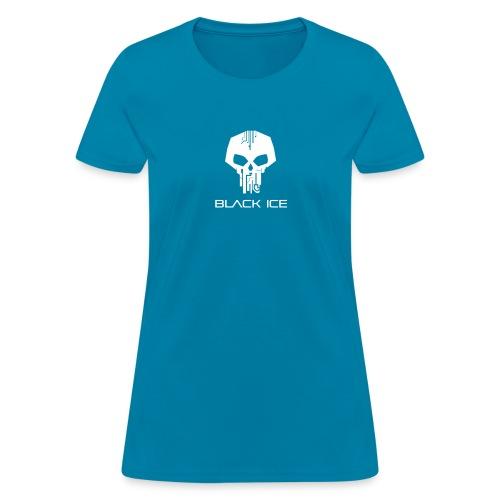 Black Logo Type Vector - Women's T-Shirt
