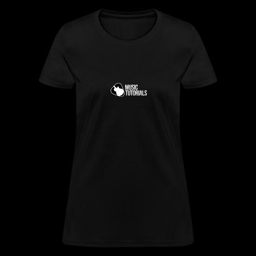 Music Tutorials Logo - Women's T-Shirt