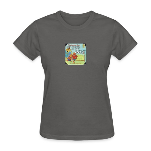 kicked in the dick - Women's T-Shirt