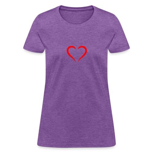 open heart - Women's T-Shirt
