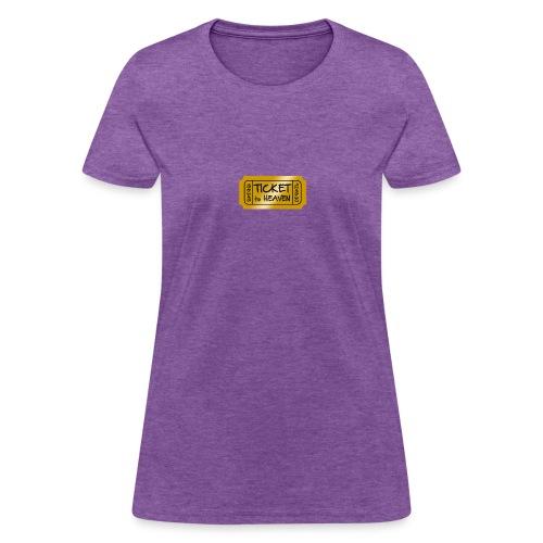 Ticket to heaven - Women's T-Shirt