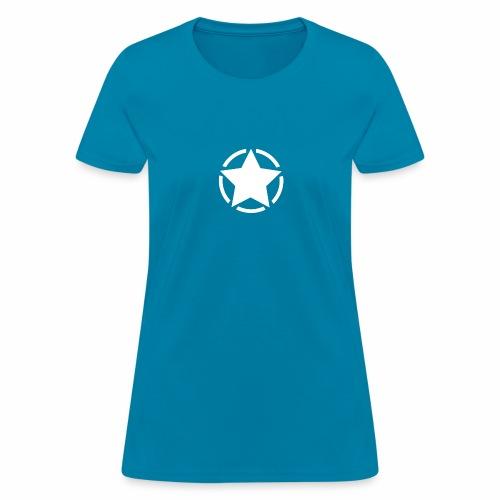 Staff starr 5pt white 14 16 - Women's T-Shirt