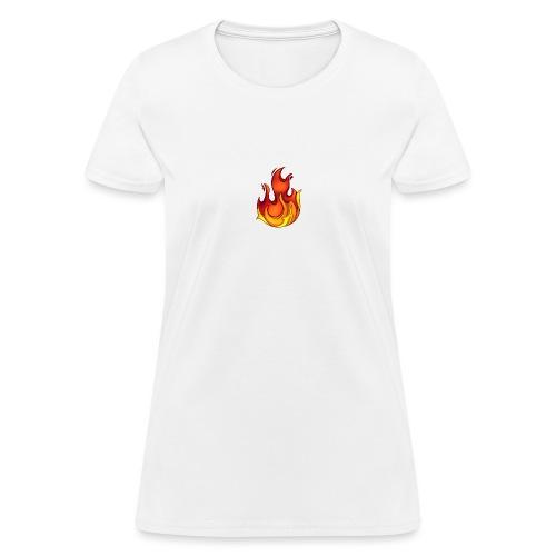 Scorchy White Logo - Women's T-Shirt