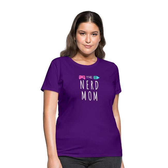 The Nerd Mom Logo