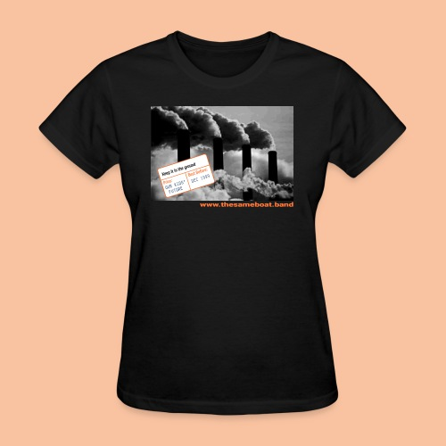 Keep it in the ground - Women's T-Shirt