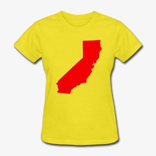Flip Cali Red - Women's T-Shirt