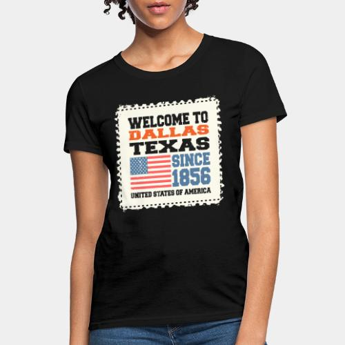 dallas texas usa - Women's T-Shirt