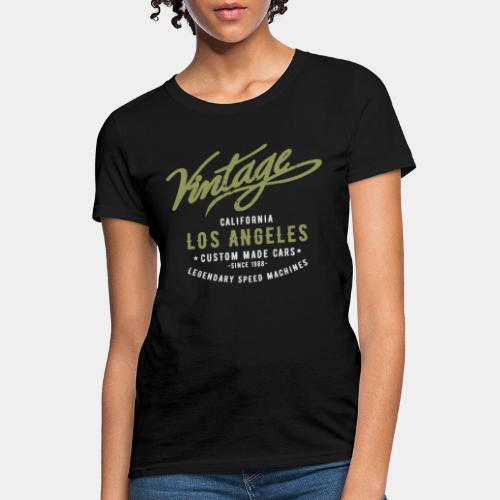 vintage retro los angeles - Women's T-Shirt