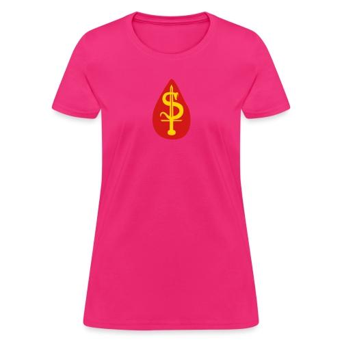blood money - Women's T-Shirt