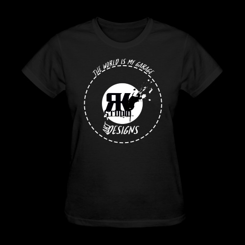 The World is My Garage - Women's T-Shirt