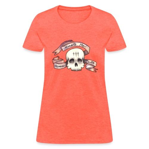 Momento Mori - Remember Death - Women's T-Shirt