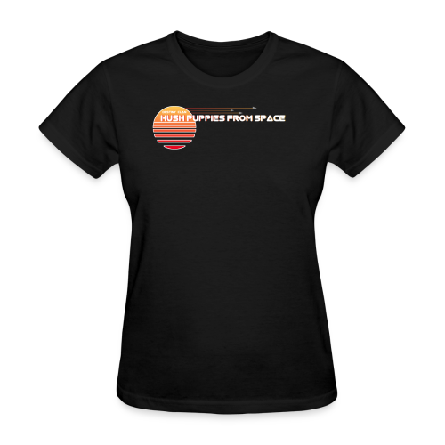Hush puppies from space - Women's T-Shirt