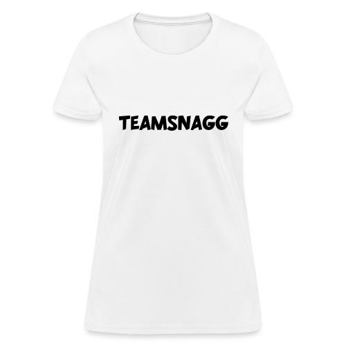 TeamSnagg Logo - Women's T-Shirt