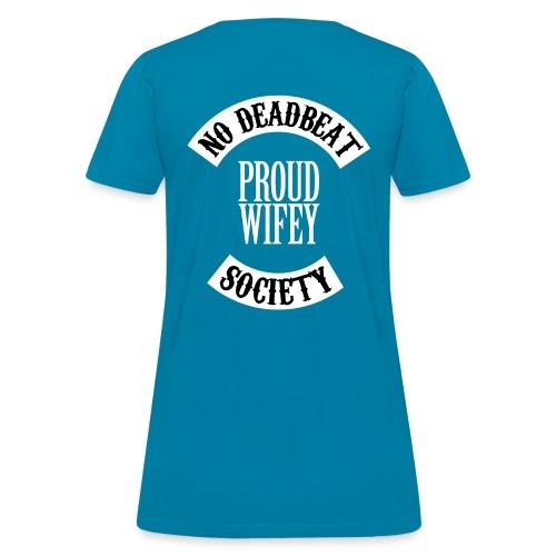 PROUD WIFEY 4 png - Women's T-Shirt