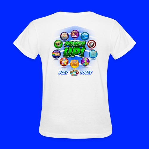 Vintage Cannonball Bingo Power-Up Tee - Women's T-Shirt