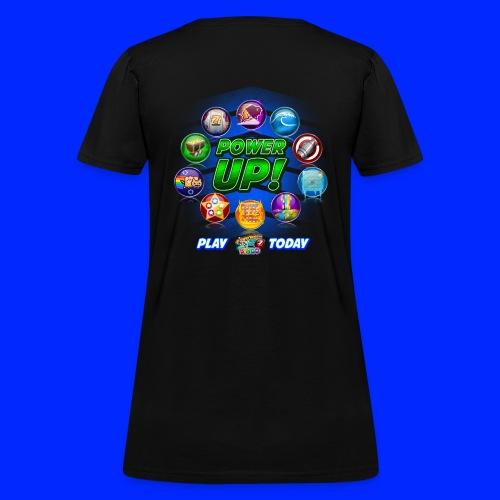 Vintage Cannonball Bingo Power-Up Tee - Women's T-Shirt