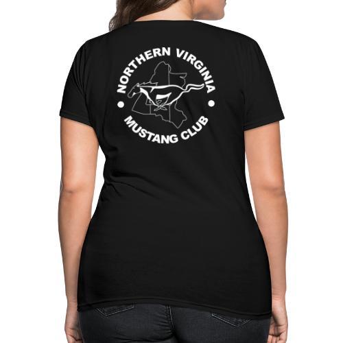 Heritage white on black logo t-shirt - Women's T-Shirt