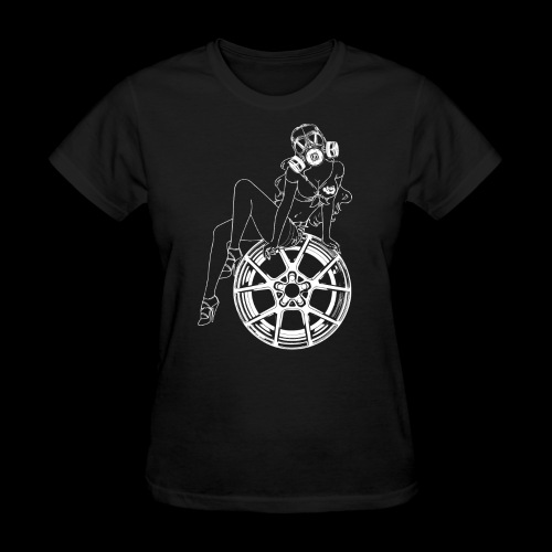 Gas Mask Girl - Women's T-Shirt