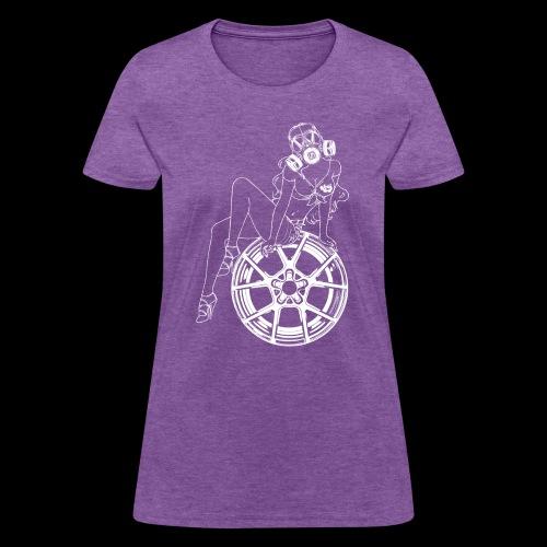 Gas Mask Girl - Women's T-Shirt