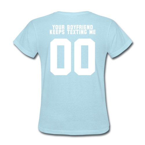 boyfriend - Women's T-Shirt