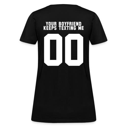 boyfriend - Women's T-Shirt