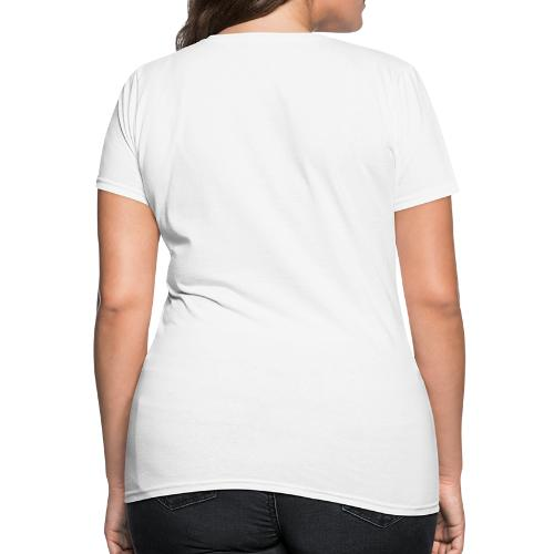 Disc Golf Aces Playing Cards White Print - Women's T-Shirt