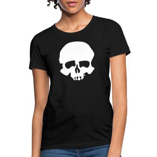 White Skull - Women's T-Shirt