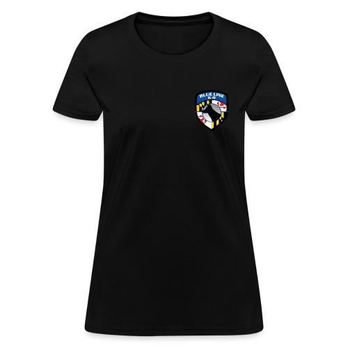 K-9 unit Logo - Women's T-Shirt