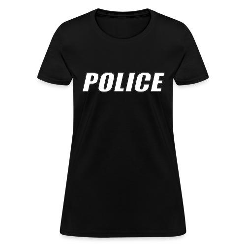 Police White - Women's T-Shirt