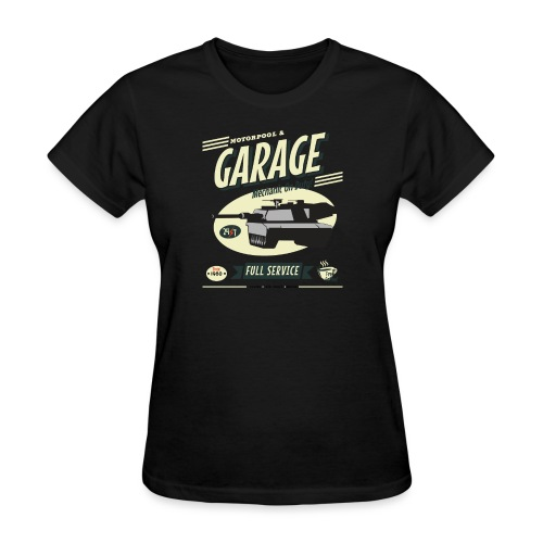 Vintage Tank Mechanic - Women's T-Shirt