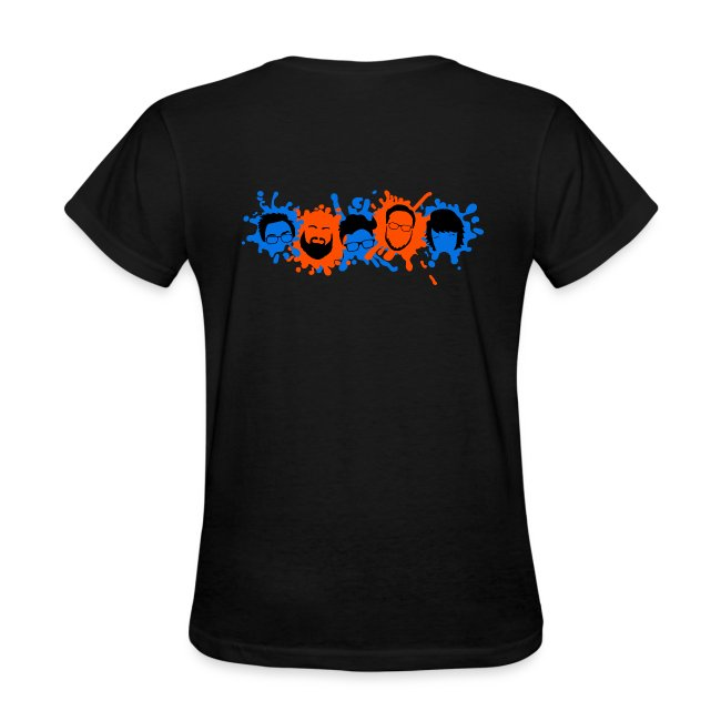 Black Explosion Network Pocket Tee w/ Characters