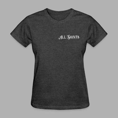 All Saints front and back print - Women's T-Shirt