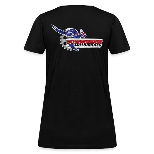 DownUnder Motorbikes Logo 01 - Women's T-Shirt