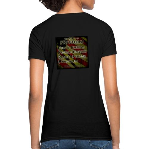 The 4 Ps of Freedom - Women's T-Shirt