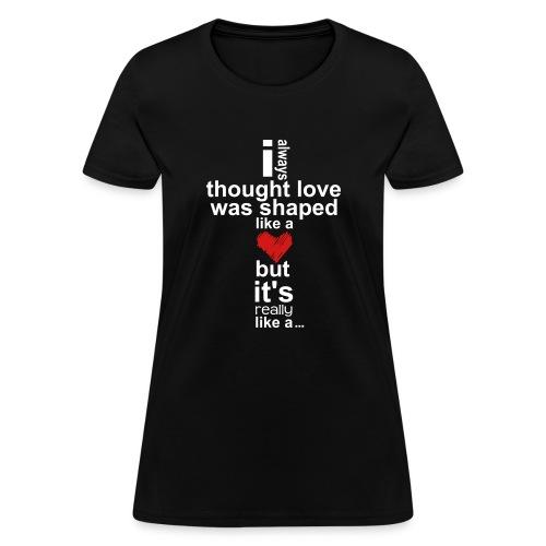 Cross Love - Women's T-Shirt