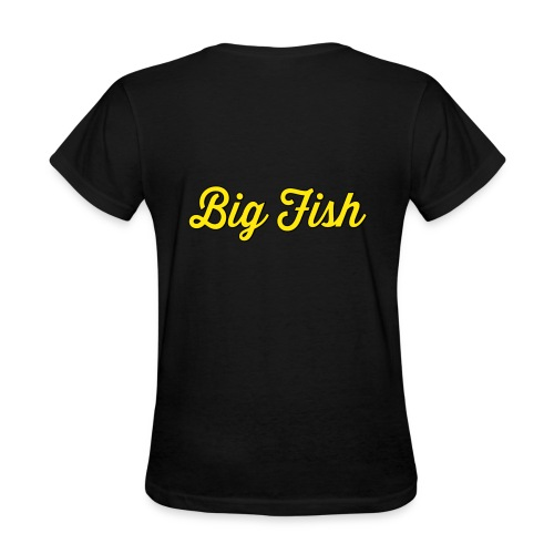 Big Fish Outlined - Women's T-Shirt