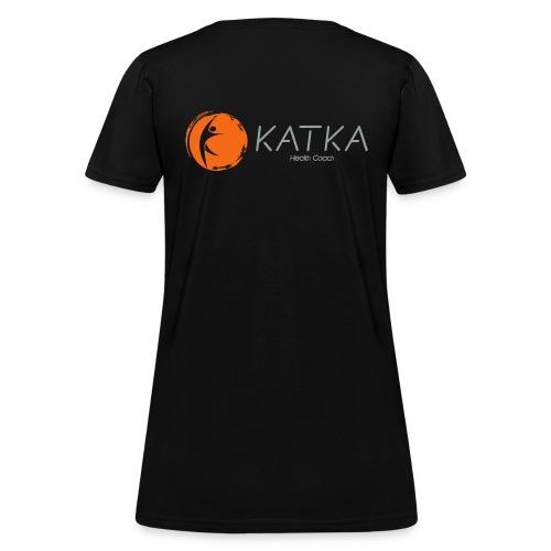 katka logo full c - Women's T-Shirt