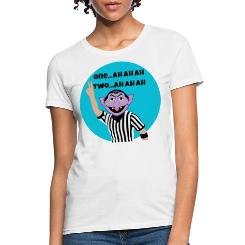 The Count with The Count - Women's T-Shirt