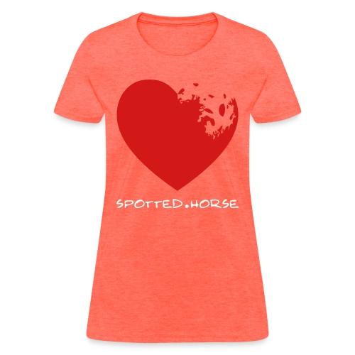 Appaloosa Heart - Women's T-Shirt