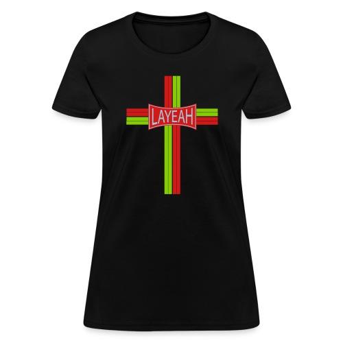 Portugy Cross Three - Women's T-Shirt