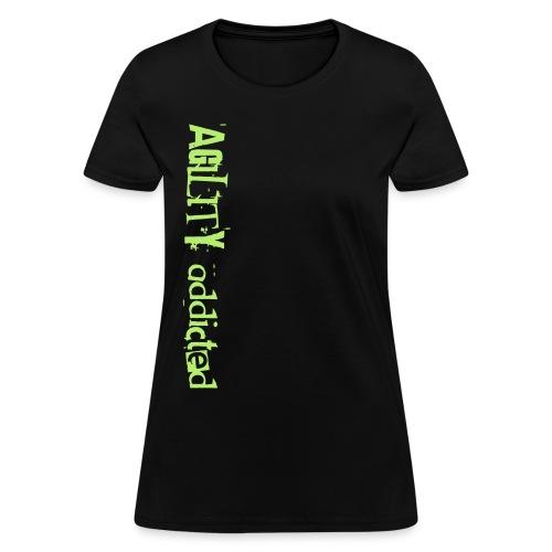agility addicted - Women's T-Shirt