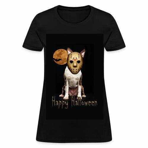 Jason - Halloween Boston Terrier - Women's T-Shirt
