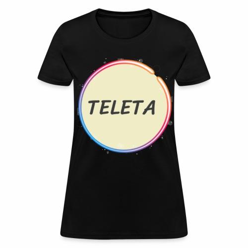 Teleta Logo Large - Women's T-Shirt