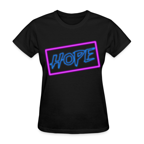 Hope neon sign - Women's T-Shirt