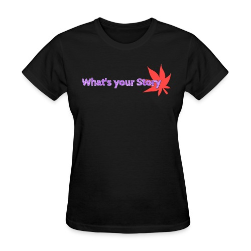 What's your story purple - Women's T-Shirt